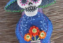 Arts & Crafts - Felt Dia de los Muertos