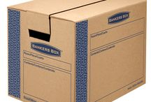 SmoothMove™ Moving and Storage Boxes / Bankers Box Moving Boxes. A great way to organize your move efficiently. / by Bankers Box