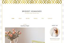 blog templates / by Victoria Hackland