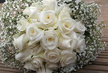gypsophila inspired wedding flowers / wedding Bouquets and arrangements with Gypsophilia