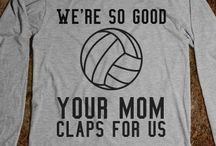 i love volleyball