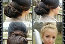 Our wedding hairdo's using hair padding or cushions / This board is strictly pictures of our wedding hair and updo work with added hair padding or hair cushions, it makes a difference!
