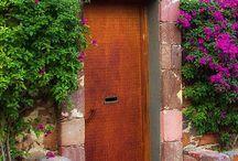 Rustic entrances