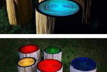 Outside Fire Pit / by Samantha Turner