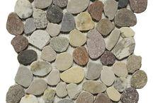 Pebble Mosaics at Tile Outlets of America