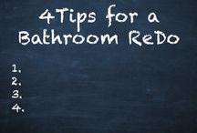 4 Tips for a Bathroom ReDo / http://www.mstoneandtile.com/bathroom-design/4-tips-for-a-bathroom-redo/