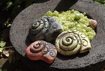 Keramika na zahrádku
