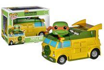 Teenage Mutant Ninja Turtles / TMNT - a team of four teenage anthropomorphic turtles: Leonardo, Michelangelo, Raphael and Donatello!