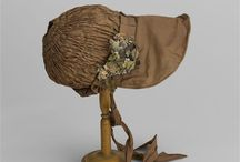 early 19th century bonnets, caps, hats