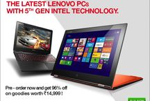 The Latest Lenovo PCs with 5TH Generation Intel Technology on thedostore / 5th Generation intel technology Laptops by lenovo For more information:http://goo.gl/PIKaNi