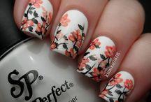 Uñas / Flores / nail art flower