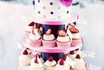 Hochzeitstorte / Dessertbuffet