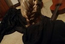hair done by me:)