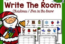 Winter Ideas for the Classroom / This board is dedicated to all things winter - Christmas, New Year, Presidents Day, Martin Luther King Jr, and everything else that falls during the months of December, January, and February. Your Kindergarten, 1st, 2nd, 3rd, 4th, 5th, and 6th grade classroom or homeschool students will love the arts, crafts, activities, FREE downloads, resources, and more found here!