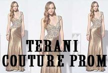 Terani Couture Prom / Terani Prom Dresses will have you looking and feeling fashionably chic with the lavish styling Terani Prom Dresses are known for. The Terani fashion label creates affordable, outstanding and red carpet worthy prom dresses.   http://www.missesdressy.com/dresses/designers/terani-couture-prom