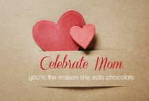 Mother's Day / A collection of chocolate and ice cream inspired ideas for Mother's Day