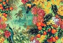 Tropical retro motifs and shoot inspiration