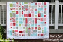 DIY: Quilts / DIY, genähter Qilts, Inspiration, Patchworkdecke,