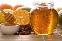 Honey & beeswax for beauty