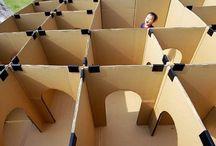 labyrinthe carton