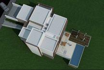Platibanda / Você sabe o que é platibanda? Nesse board vamos te mostrar casas com platibanda e tudo o que você precisa saber sobre telhado platibanda. #casaplatibanda #telhadoplatibanda #oqueéplatibanda #designdeexteriores #arquitetura