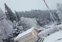 Our Norwegian Christmas Home
