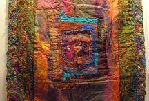Fiber abstract art