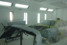 Paint Booth / Check out our Paint Booth at #RodneysBodyShop