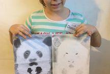 Gyermek jobb agyféltekés rajzok