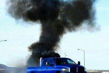 Holy smoke! - Diesel power