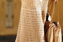 falda de ganchillo