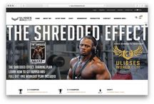 Fitness Website Collection / This board showcases the best Fitness sites to use as inspiration for websites on AllyOne.net