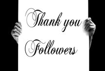 THANK YOU FOLLOWERS