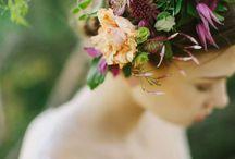 Flower Crowns / Some flower crowns we love