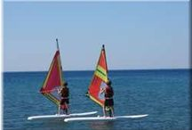 Sports in Rhodes / Discover the wide variety of Waters ports and Land sports that can be practiced in the Island of Rhodes, Greece