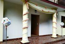 Dekoracja domu na ślub