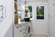 Laundry ideas / Beautiful spaces to do the washing