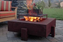 Fire Pits and Fireplaces for Garden