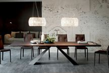 Contemporary Fixed Dining Tables / Fixed dining tables