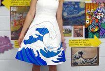 Project art : waves pattern ideas