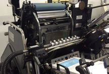 Letterpress studio / Met Inkt - Where we make the most beautiful letterpress birth anouncements and wedding invitations