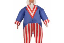 Patriotic Costumes for the 4th of July / Independence Day means grilling and fireworks but, to truly show off your American spirit, here are some great patriotic costume ideas. Whether you are looking for just a hint of red, white and blue gear or you are planning to dress in full 4th of July costume, check out our suggestions and tips for picking just the right patriotic apparel.