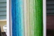 barvení vlny