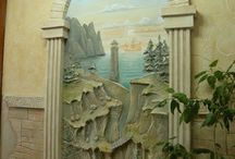 Archi pitturato
