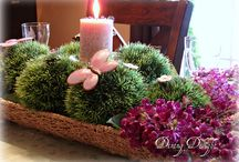 Spring/Easter Centerpieces
