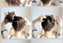 Cabelo de diva / Um penteado fácil e prático para quem vive na correria !  É lindo e combina com qualquer estilo e look
