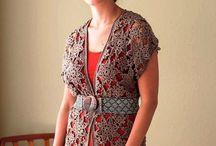 chalecos crochet / by clara martinez