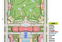 Brys Bigg villas layout plan greater noida