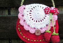 Crochet: BAGS,  BASKETS & CO