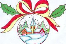 Mandalas de Noël / Vous trouverez toutes ses images sur mon blog : http://laviedesparoisses.over-blog.com/
